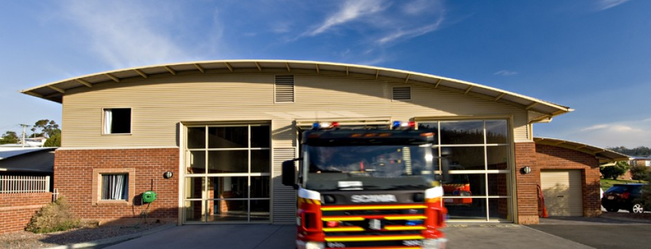 Mornington Fire Station, Tasmania - community architecture