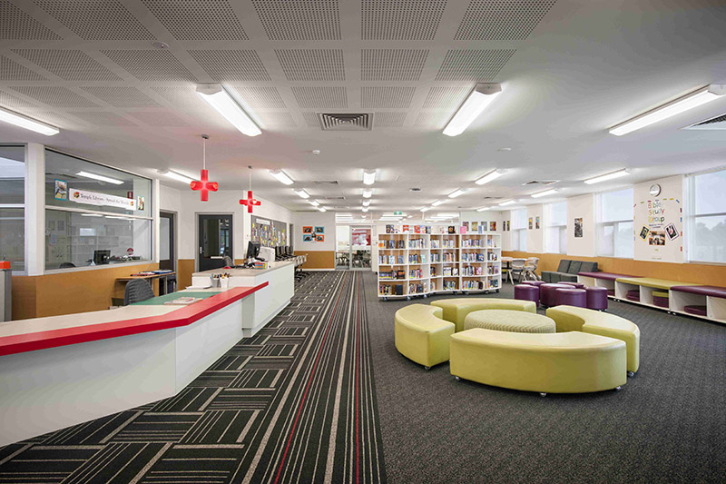 School library - education architect and interior designer