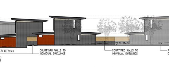 Greenway Development, Canberra - Southern Dwellings elevation