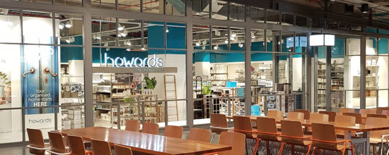 Howards Storage World, Robina, Queensland - shop fit out