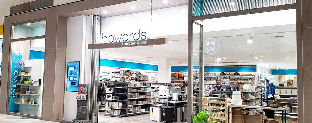 Howards Storage World, Richmond, Melbourne - retail shop fit out